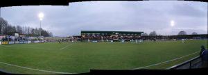 A bit of a panorama of the stadium