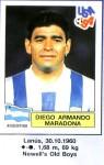 4 Maradona 1994 Pannini