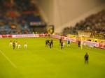 Vitesse Arnhem look for a goal