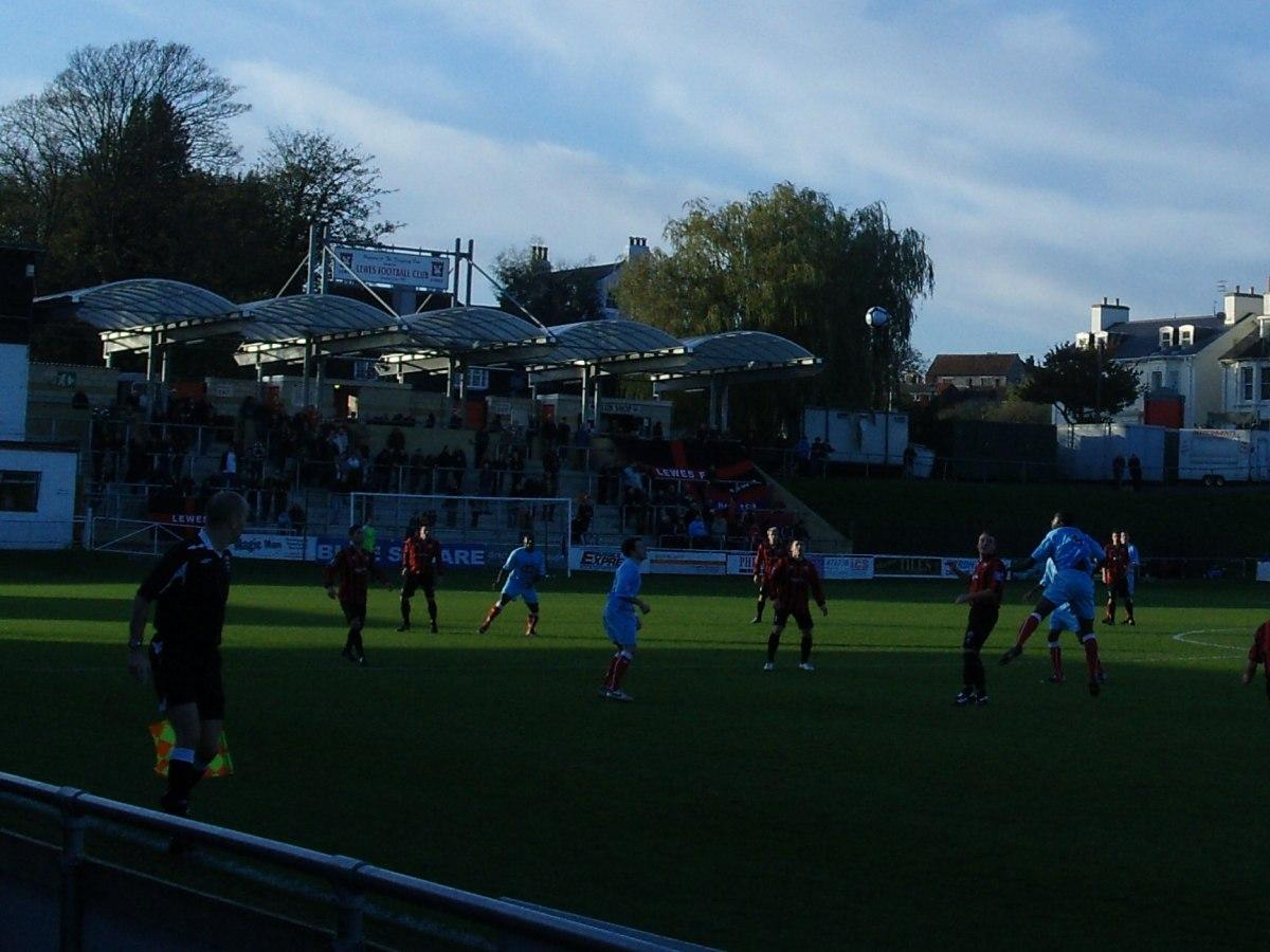 Lewes 1 Hampton & Richmond 0