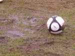 The ball is round....and soggy