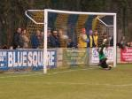 Staines pull a goal back with their first shot on goal