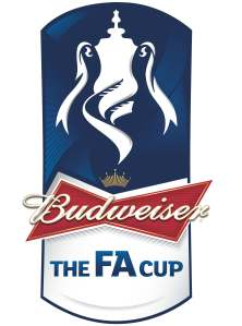 FA Cup with Budweiser logo