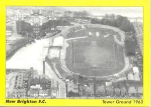 NewBrightonFC-TowerGround-1963-Postcard
