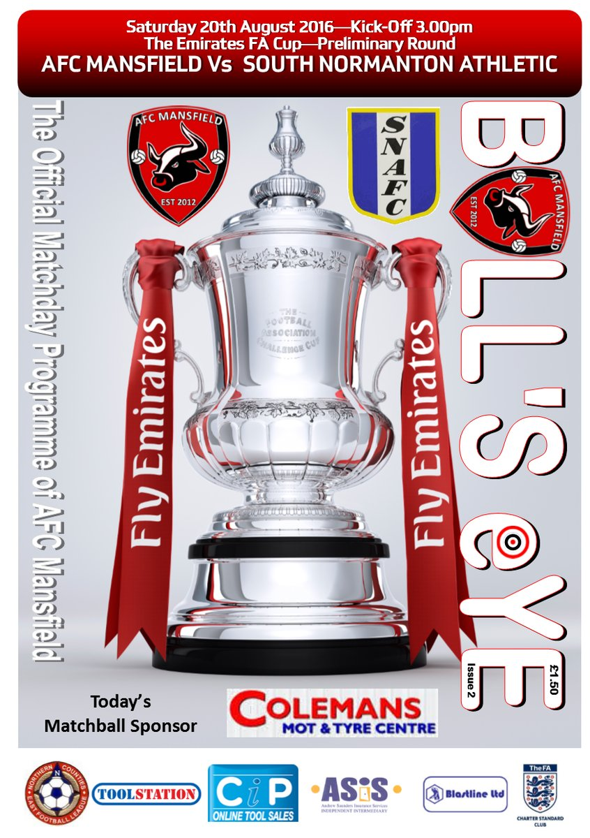 Fa cup non league club the was the top fa cup tie in the preliminary round that was undisputed as afc mansfield were first in alphabetical order it was also another first for reviewsmspy